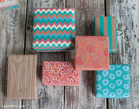 Sweet Summertime Gift Wrap, free printables by Lia Griffith