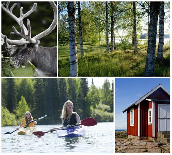 Schweden_Collage