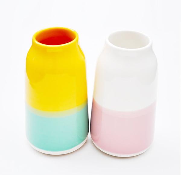 Robert Siegel Color Gloss Vases, Leif
