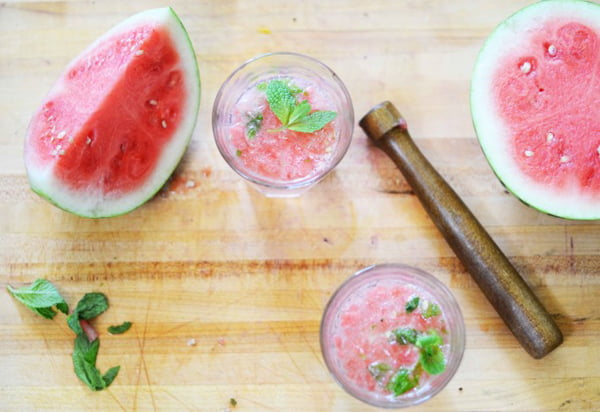 Watermelon Mint Fizz, via Hellogiggles.com