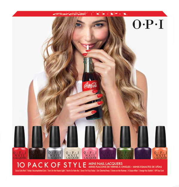 Coca-Cola by OPI Mini Nail Lacquers Set