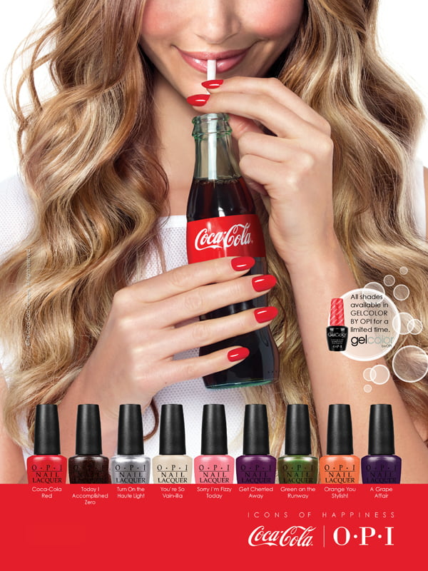 Coca-Cola by OPI visual