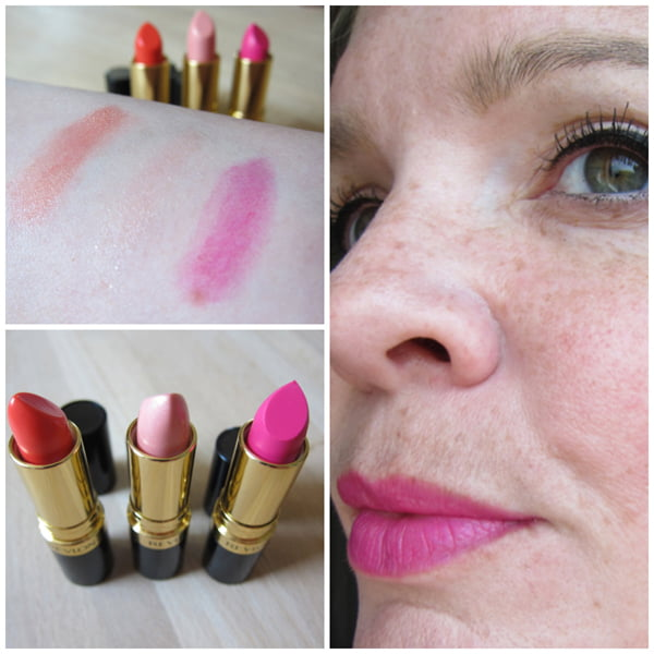 Revlon Rio Rush Lipsticks swatched by Hey Pretty