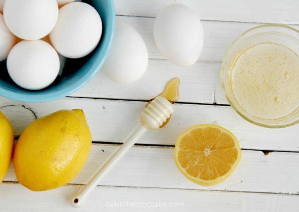 Honey Lemon Eggwhite Mask, Copyright thekitchenmccabe.com