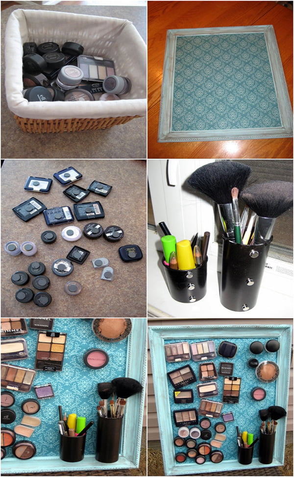 DIY_MakeUpMagnetBoard