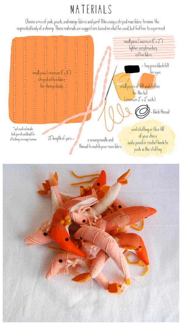 Birthday Shrimp, Image Copyright Sian Keegan