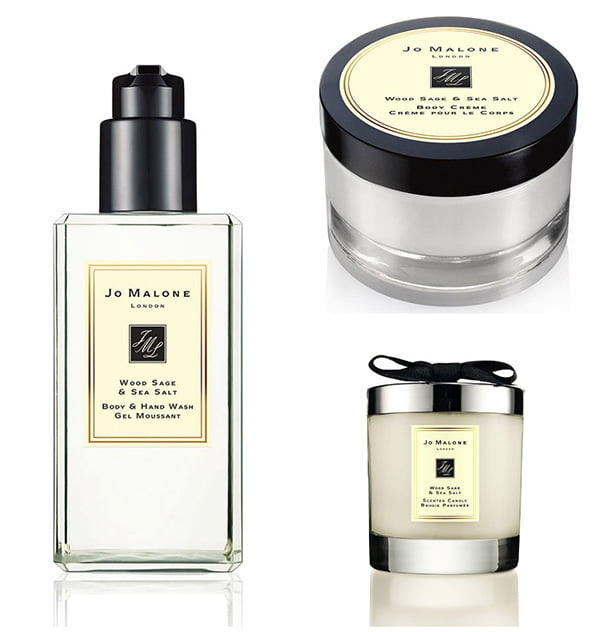 jo malone wood sage sea salt hey pretty. Black Bedroom Furniture Sets. Home Design Ideas