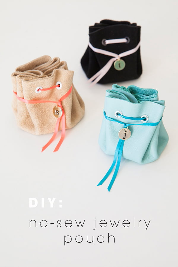 DIY No-Sew Jewelry Pouch, Image Copyright Something Turquoise