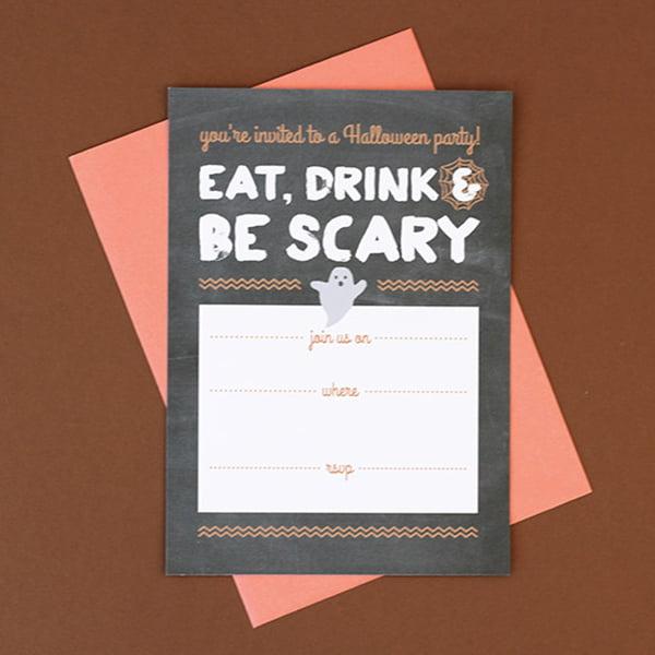 Halloween Party Invitation, Copyright Love vs. Design