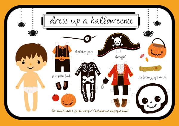 Halloweenie Boy, Copyright Babalisme