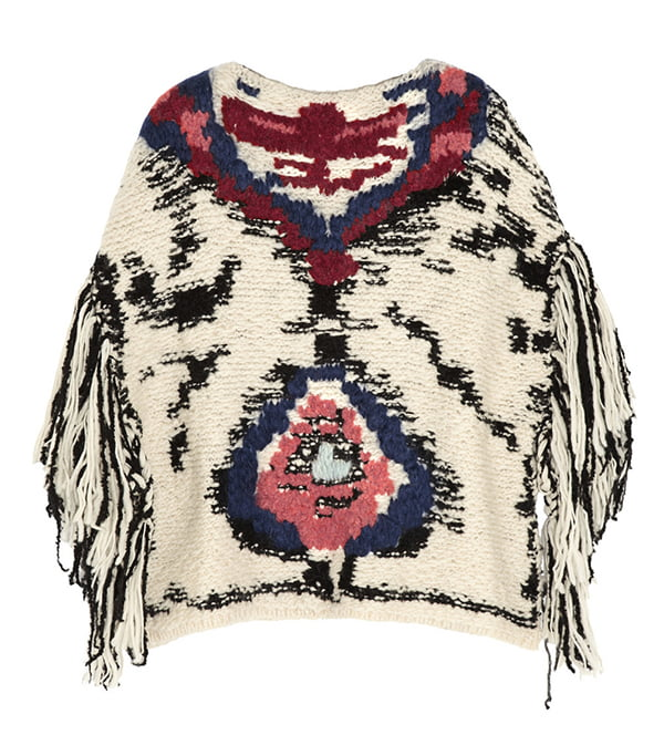 Etoile by Isabel Marant Shanon Poncho, Copyright Net a Porter