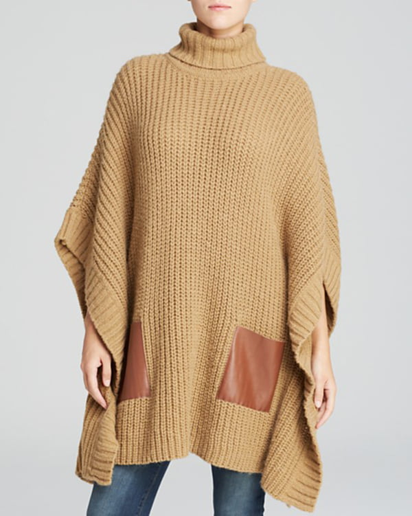 Michael by Michael Kors Turtleneck Poncho, Copyright Bloomingdales