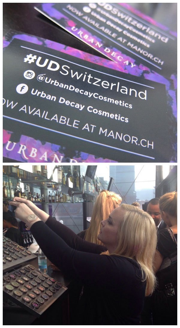 Urban Decay Schweiz by Hey Pretty, Launch Event