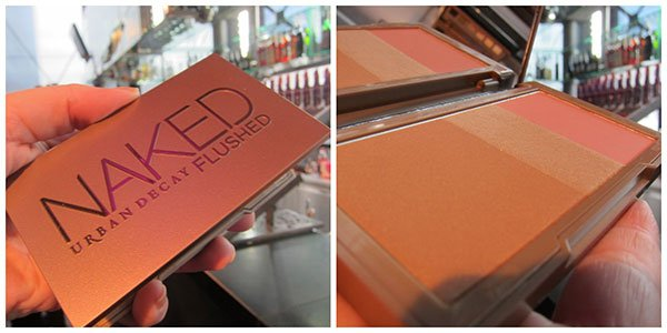Urban Decay Schweiz by Hey Pretty, Naked Flushed Palette