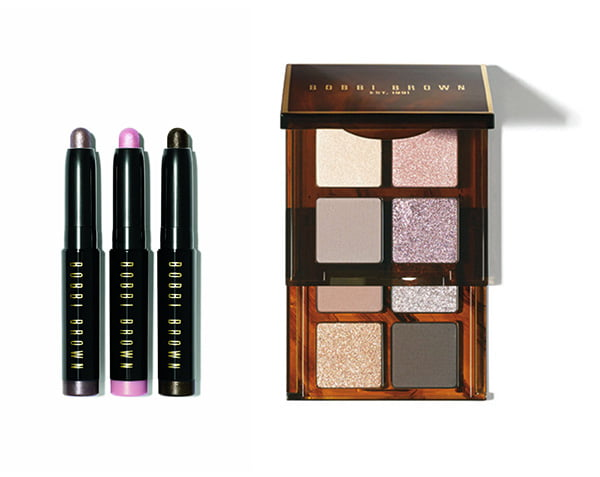 Bobbi Brown Holiday Collection 2014 Mini Long-Wear Cream Shadow Stick Trio and Mini Eye Palette