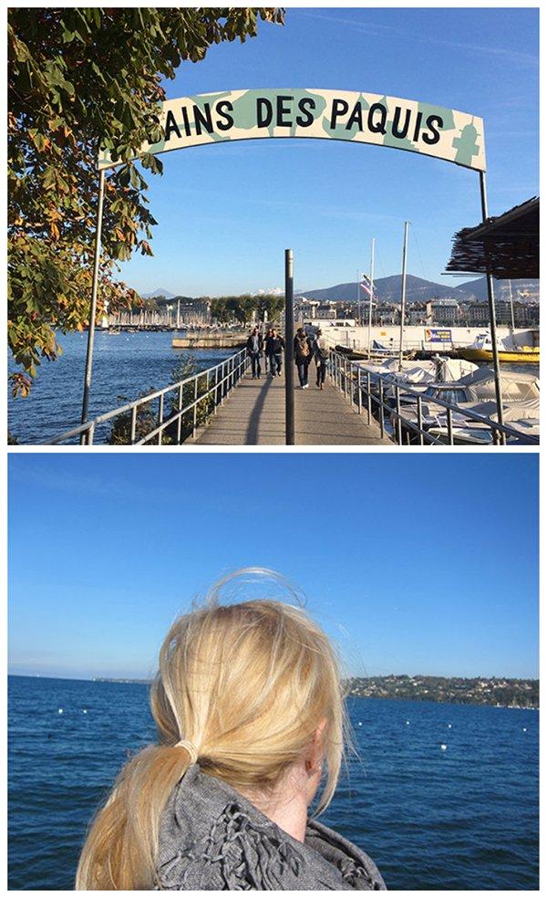#DiscoverGeneva, Genf mit Hey Pretty, Les Bains des Paquis