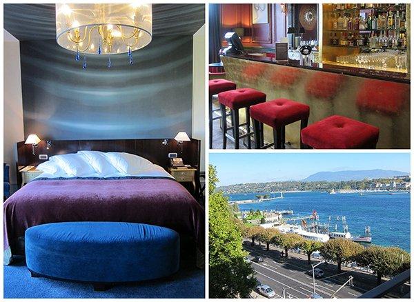 #DiscoverGeneva, Genf mit Hey Pretty, Hotel de la Paix