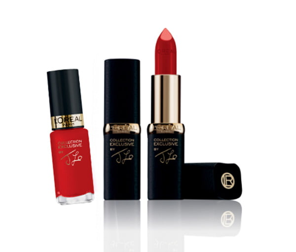 J-Lo's Rouge Rubis L'Oreal Pur Rouge