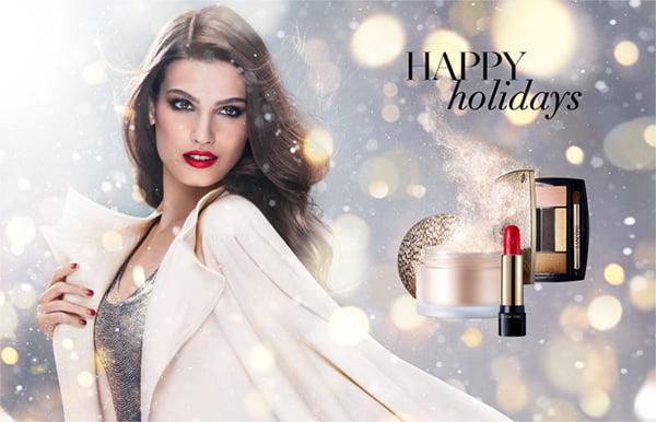 Lancome Christmas Look 2014 Happy Holidays Visual