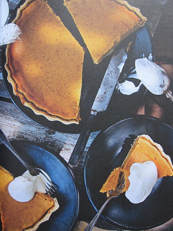 Pumpkin Pie, Bild-Copyright Wolfgang Kleinschmidt, Christian Verlag 2014 (aus United States of Cakes von Roy Fares)