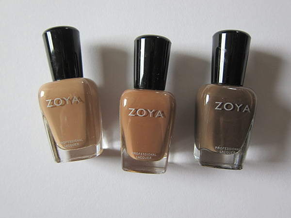 Zoya Spencer, Chanelle and Emilia (Zoya Autum 2014 Nature Deux Collection)
