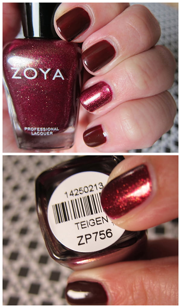 Zoya Teigen and Veronica, Autumn 2014 swatched by Hey Pretty