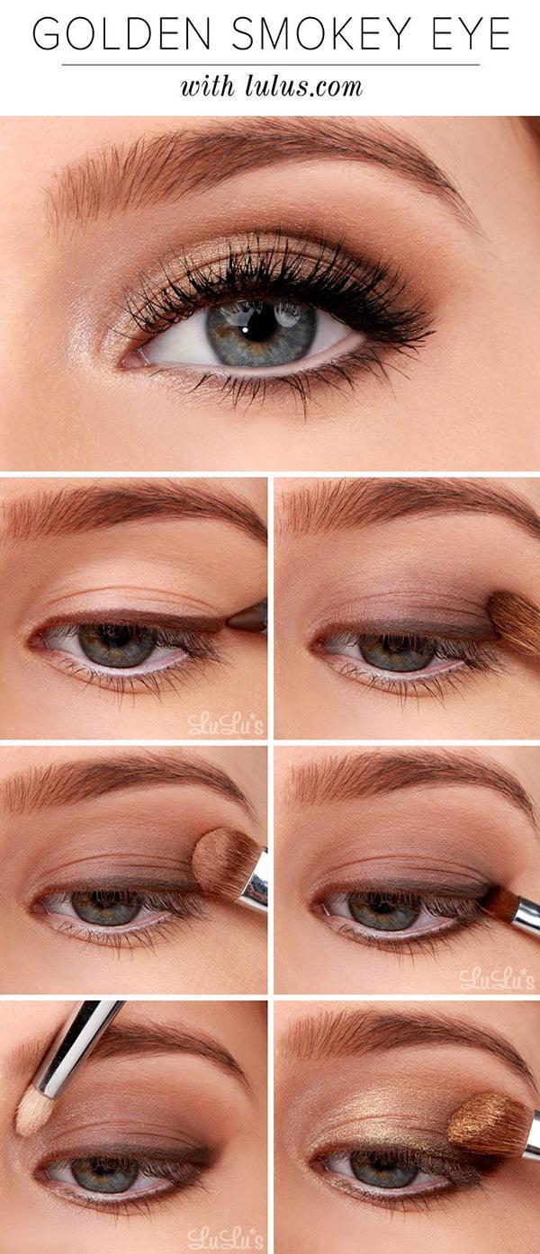 Golden Smokey Eye, Image copyright Lulus.com