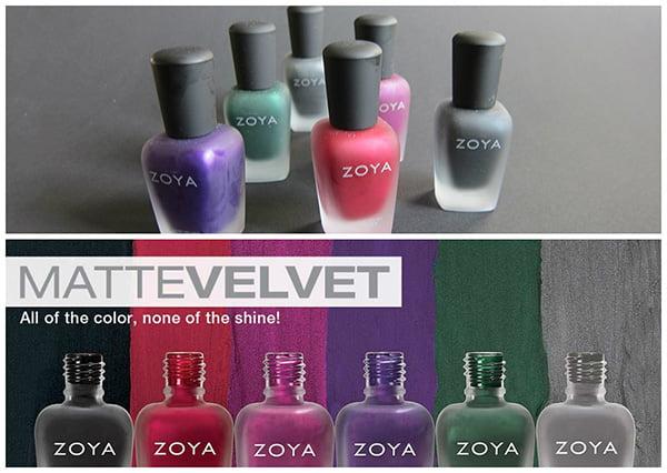 Zoya MatteVelvet Collection Review by Hey Pretty Beauty Blog