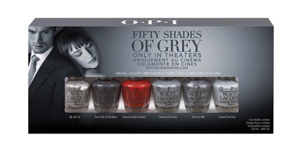 OPI Fifty Shades of Grey Mini Set