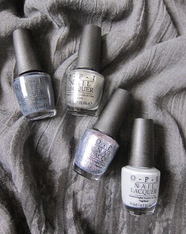 OPI 50 Shades of Grey Swatched by Hey Pretty
