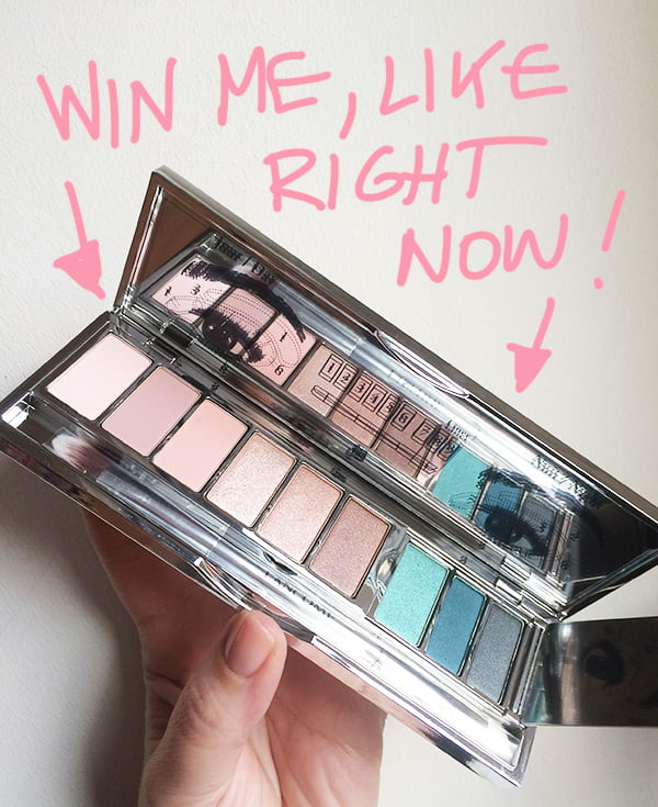 Lancome My French Palette win on Hey Pretty