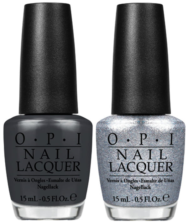 OPI Fifty Shades of Grey Dark Side of the Mood and Shine for Me