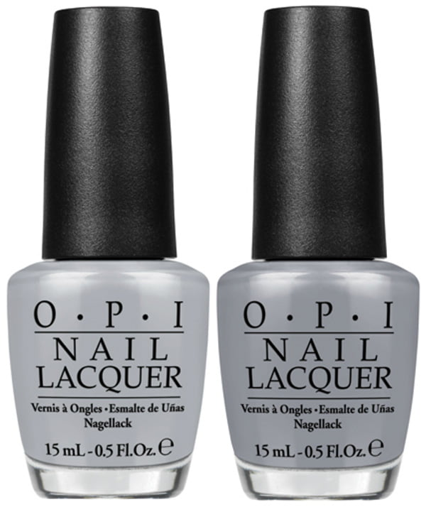 OPI Fifty Shades of Grey Cement the Deal and Embrace the Gray