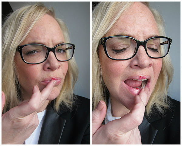 Review Lush The Kiss Lip Scrub Lippenpeeling by Hey Pretty