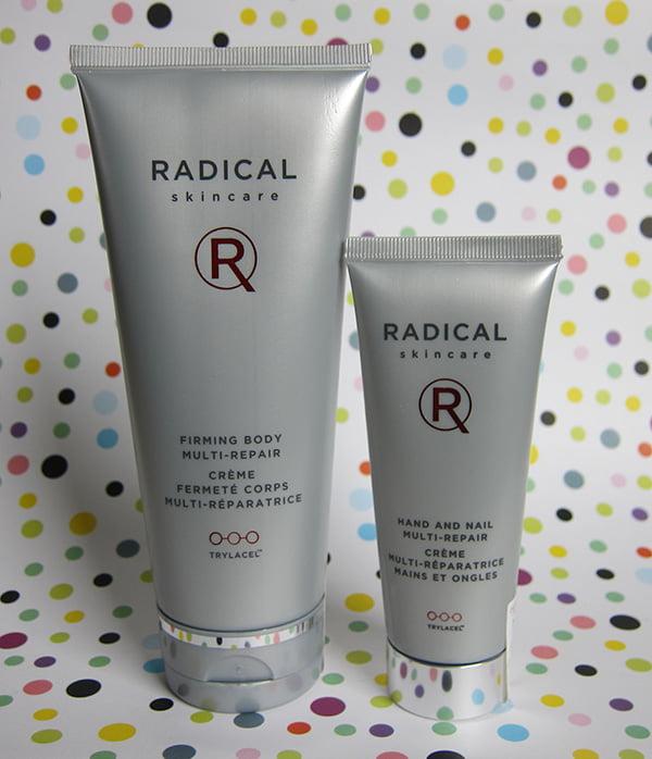 Radical Skincare Firming Body Multi Repair Creme and Hand and Nail Multi-Repair Creme