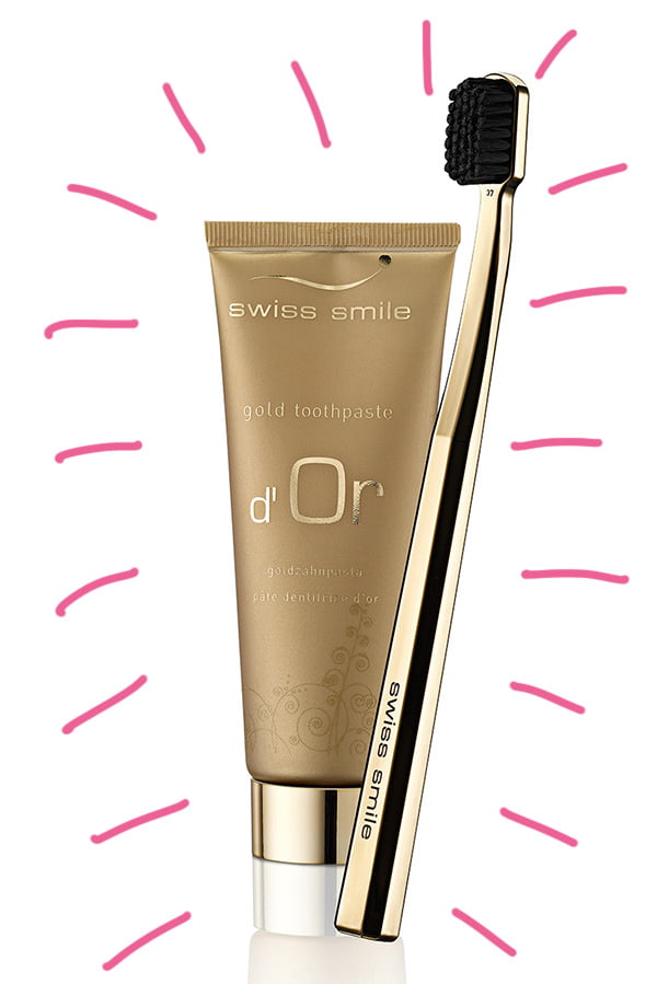 swiss smile d'Or Zahngel Hey Pretty Review