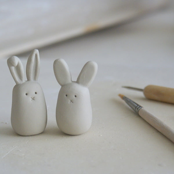 Bunny Love Clay Bunnies, Bild-Copyright ArtMind Flickr