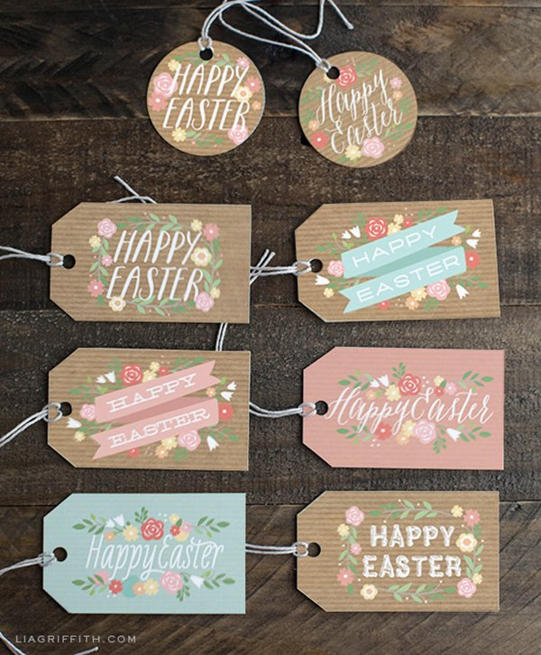 Free Printable Easter Tags & Paper, Bild-Copyright www.liagriffith.com