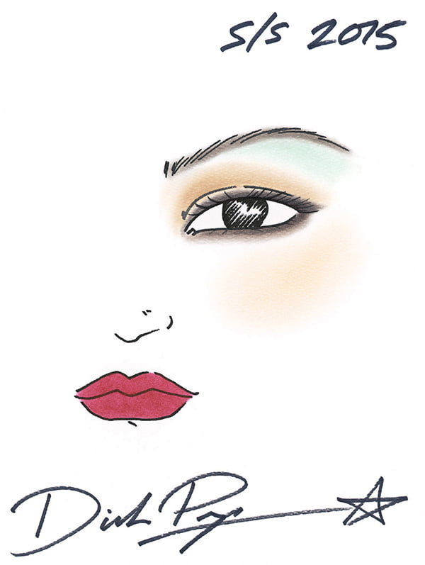 Shiseido Spring Summer 2015 Make Up Look by Hey Pretty