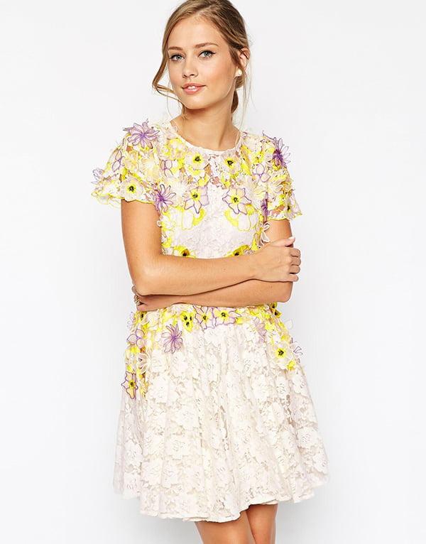 Salon Applique Skater Dress, Image Copyright: ASOS