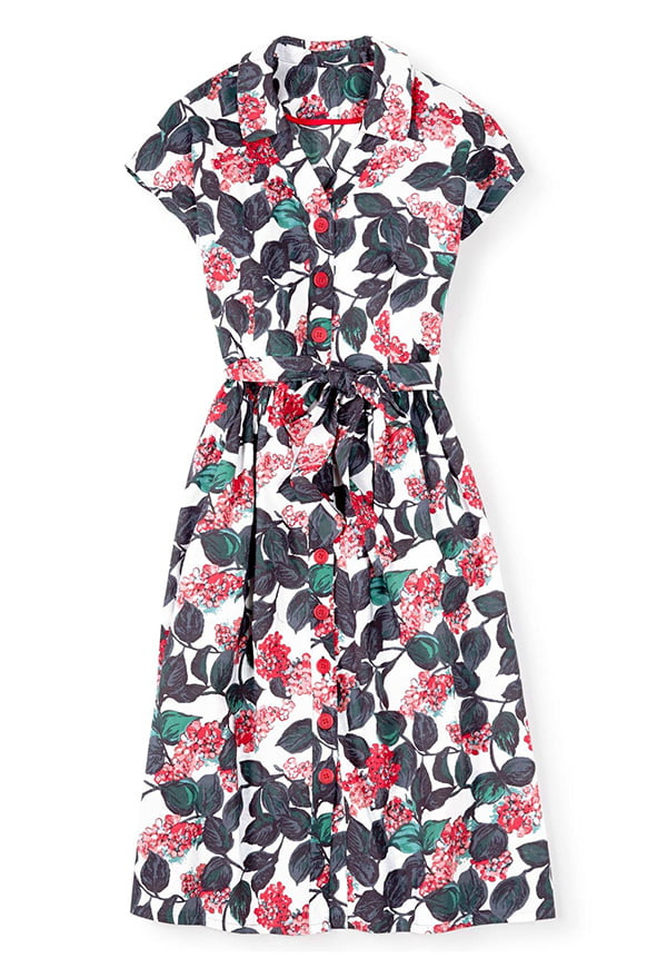 Seatown Shirt Dress, Image Copyright: Boden