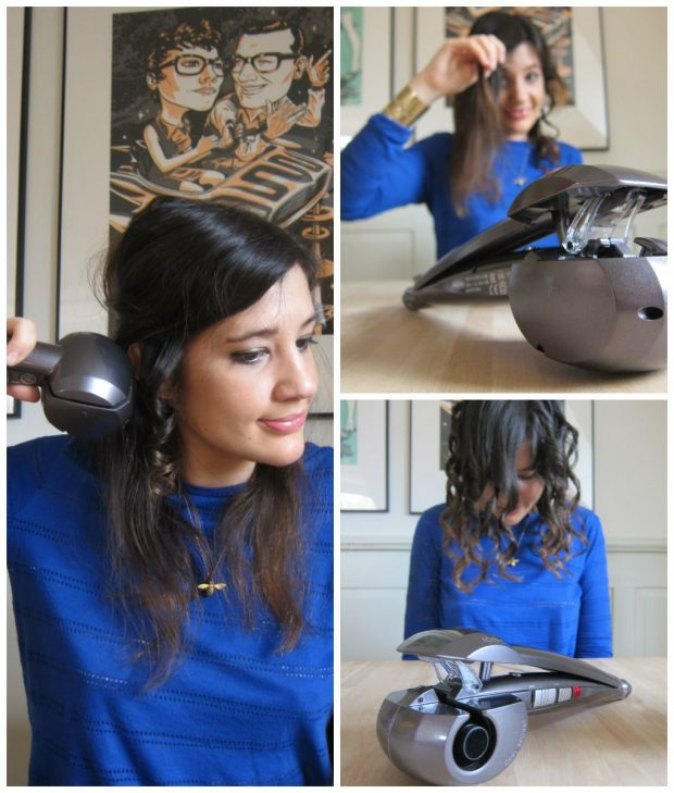 Babyliss Curl Secret Ionic C1100E, Hey Pretty Review, Tutorial