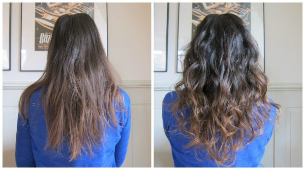 Babyliss Curl Secret Ionic C1100E, Hey Pretty Review, Before After