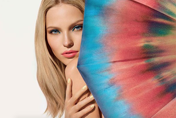 Dior Tie Dye Summer Look 2015 Model Visual via Hey Pretty