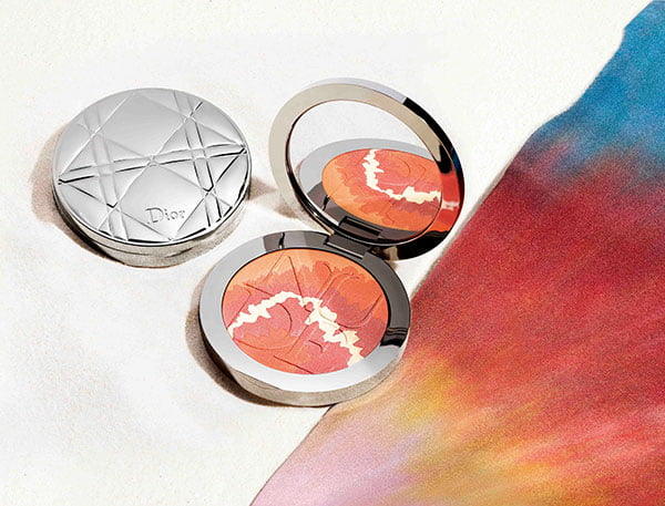 Dior Tie Dye Summer Look 2015: Diorskin Nude Tan Tie Blush Harmony Visual