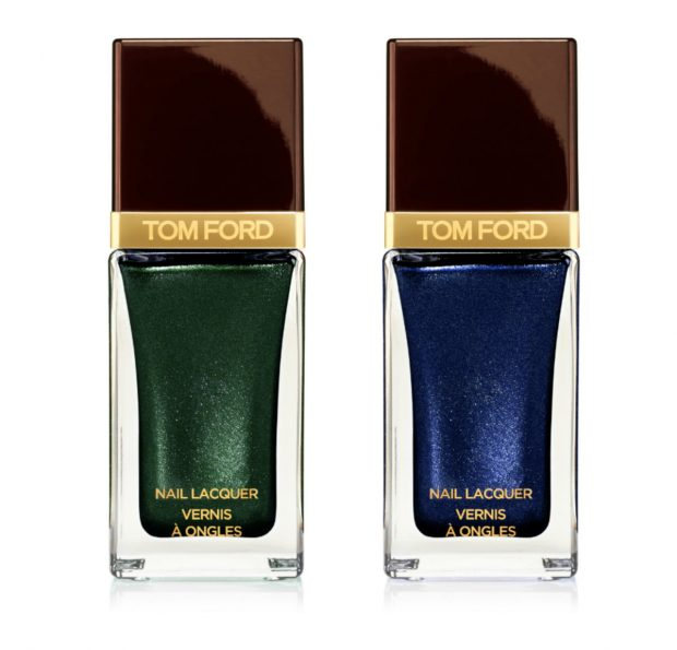 Tom Ford Spring 2015 Color Collection Nail Lacquer in Black Jade und Indigo Night