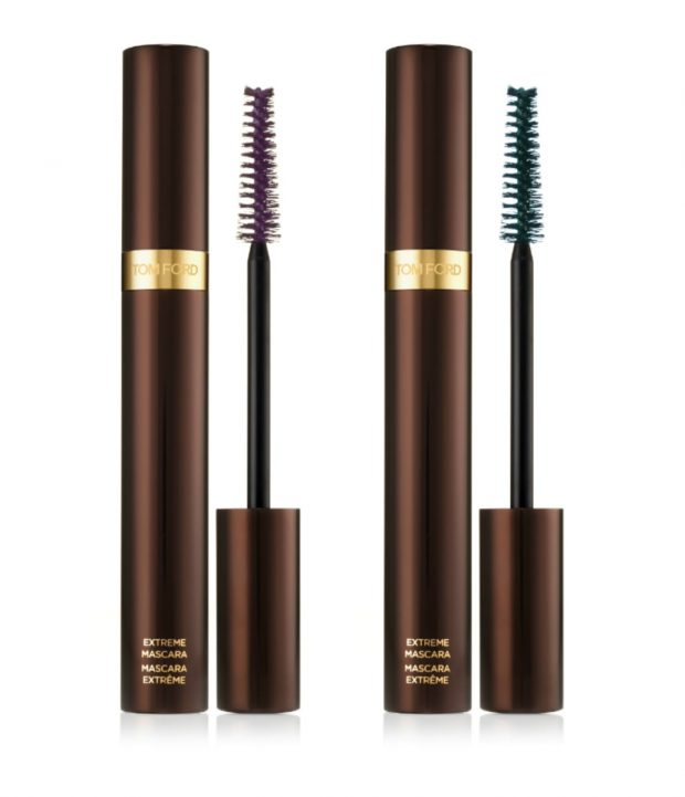 Tom Ford Spring 2015 Color Collection Extreme Mascara in Black Plum und Teal Intense