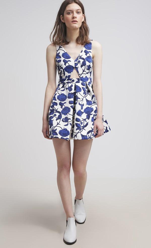 Topshop Floral Dress, Image Copyright: Zalando/Topshop