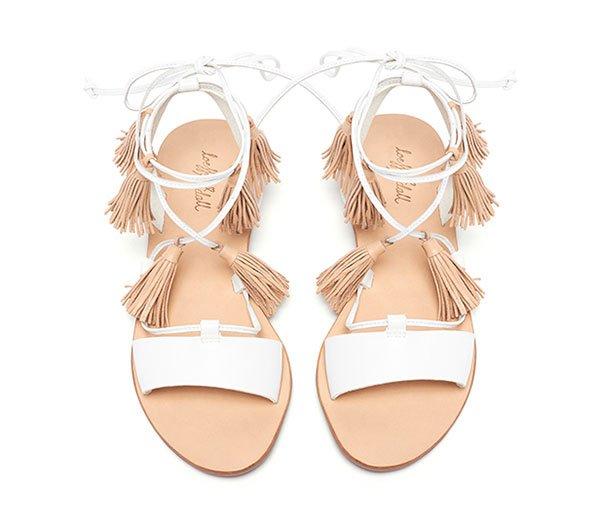 Saffron Ankle Wrap Sandal by Loeffler Randall