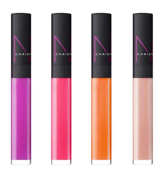 Christopher Kane for NARS Collection Lip Gloss in Glow Pink, Mezmer, Nebulous and Nucleus